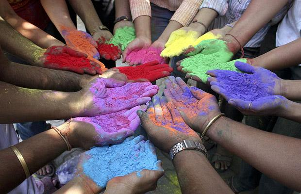 Holi - to celebrate the vibrant you!