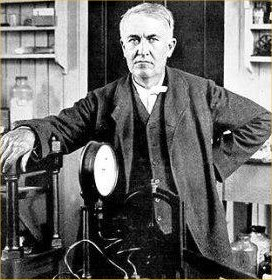 `Genius is one per cent inspiration, ninety-nine per cent perspiration.`Thomas Alva Edison