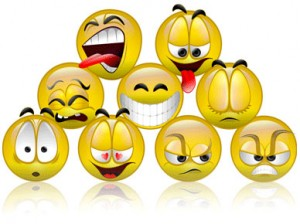 Is there a difference between an emoticon and a smiley`