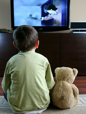 Is Television Your Child`s Babysitter`