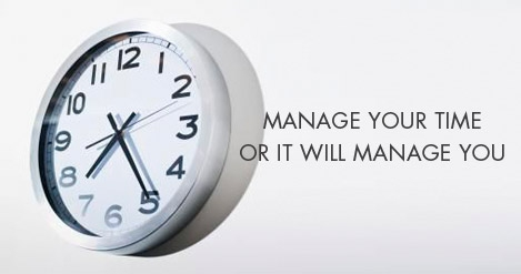 MANAGE YOUR TIME AS YOU MANAGE YOUR MONEY