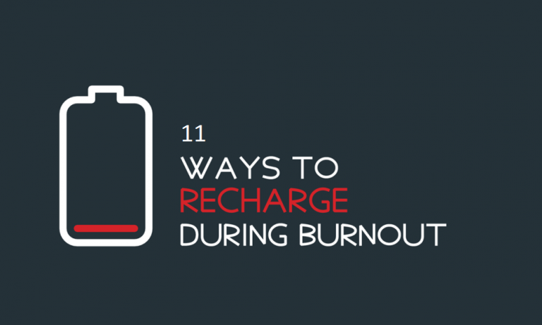 11 Tips to Recharge Yourself