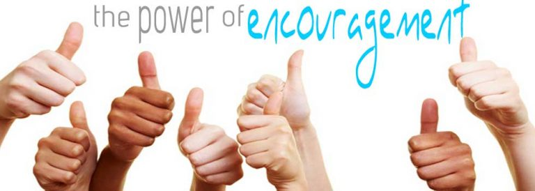 The importance of encouraging self and others